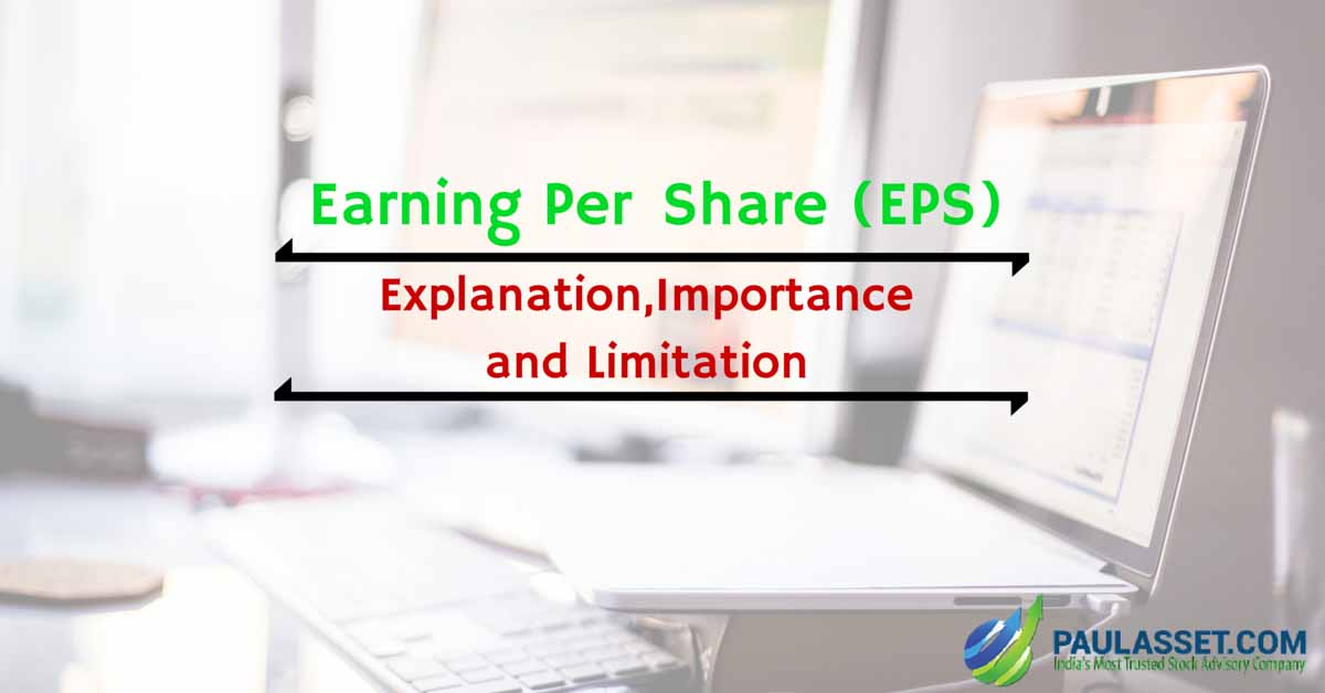 earning per share Earnings per share (eps) can be defined as a portion of a company's profit allocated to a person's share of the stock and is released quarterly.