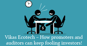 How promoters and auditors can keep fooling investors
